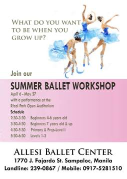 Manila https://www.facebook.com/allesiballetcenter/