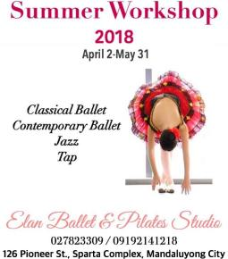 Pasig https://www.facebook.com/elanballetpilates/